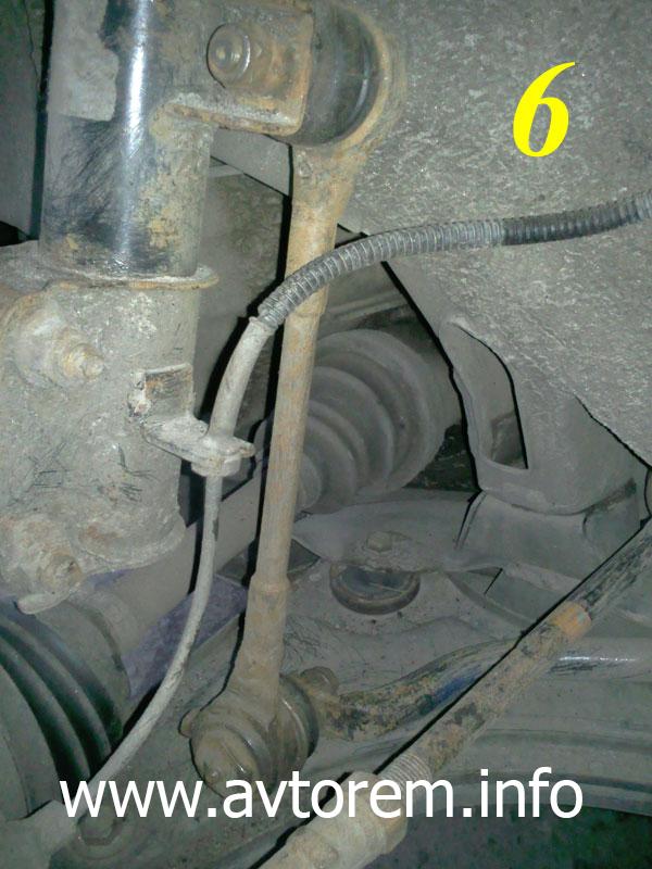 Замена стоек переднего и заднего стабилизатора поперечной устойчивости на автомобиле Daewoo Nubira (Дэу Нубира)
