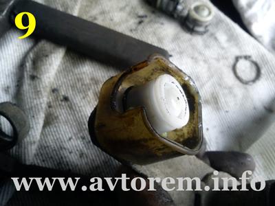 Пластмассовая втулка шарнира привода переключения передач ланос нексия