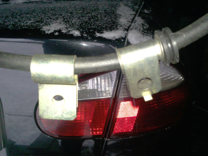 Проводим замену троса ручника на автомобилях Daewoo Lanos, Daewoo Sens, Chevrolet Lanos, ЗАЗ Lanos, ЗАЗ Sens