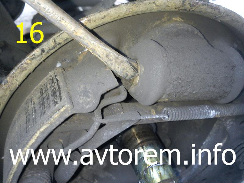 диагностика тормозного цилиндра задних колес на матизе