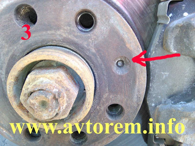 как поменять тормозные диски на ланосе