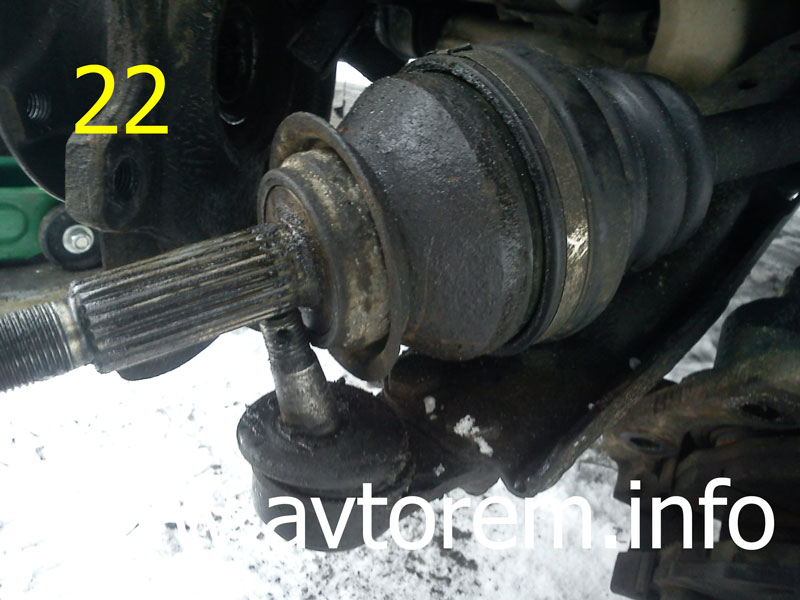 Капризный привод передних колес дэу сенс