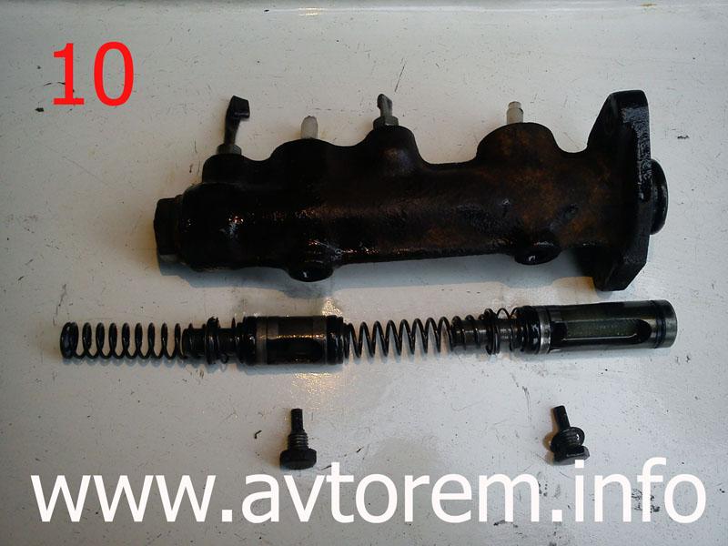 Фото №7 - ремонт главного тормозного цилиндра ВАЗ 2110