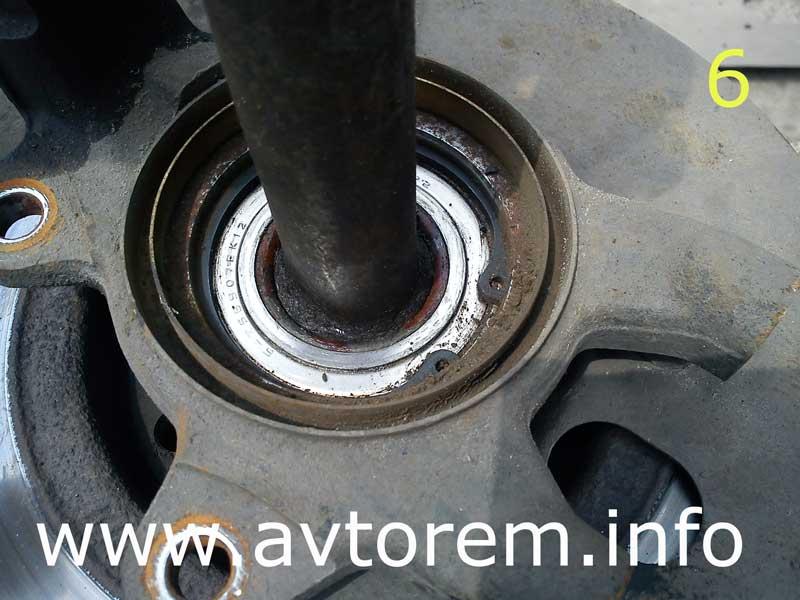 Замена подшипника передней ступицы на автомобилях Ваз-2108, Ваз-2109, Ваз-2