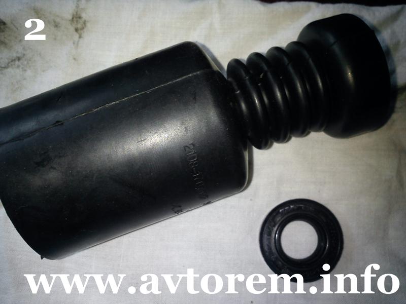 Пыльник и сальник штока переключения передач ваз-2109