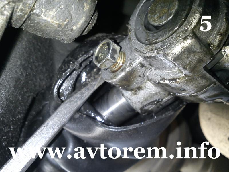 Фото №17 - сальник штока выбора передач ВАЗ 2110