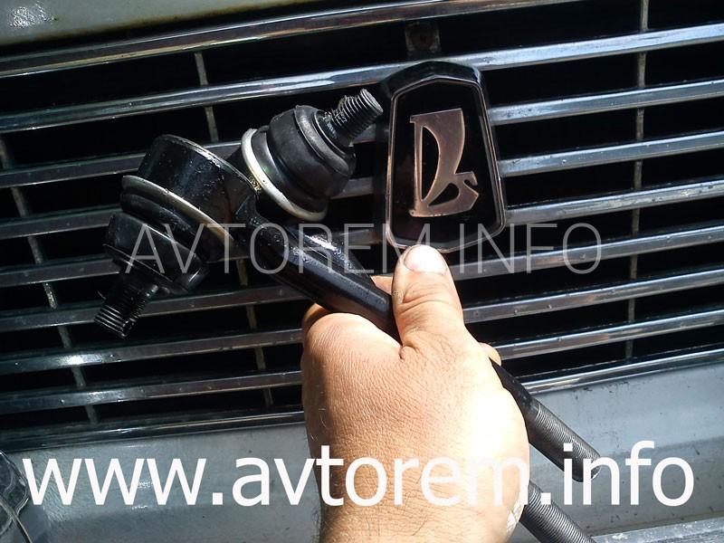Как заменить рулевую трапецию на автомобилях ваз 2101-2107