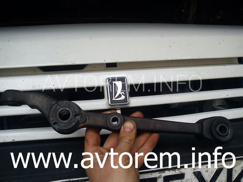 Как заменить сайлентблоки рычага передней подвески на автомобиле ваз-2109