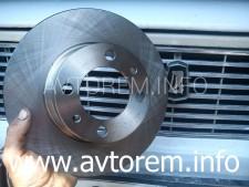 Как самостоятельно заменить тормозные диски ваз 2106