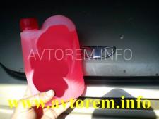 замена охлаждающей жидкости матиз