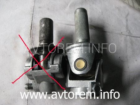 короткоходный карданчик кулисы КПП  для автомобиля ВАЗ-1118