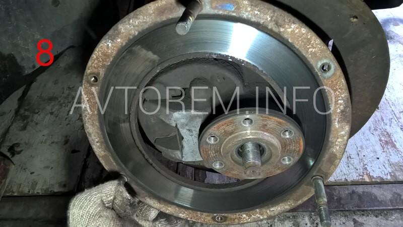 передний тормозной диск таврия