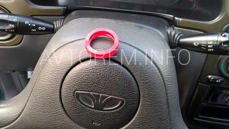 уплотняющее кольцо рычага переключения передач ланос замена