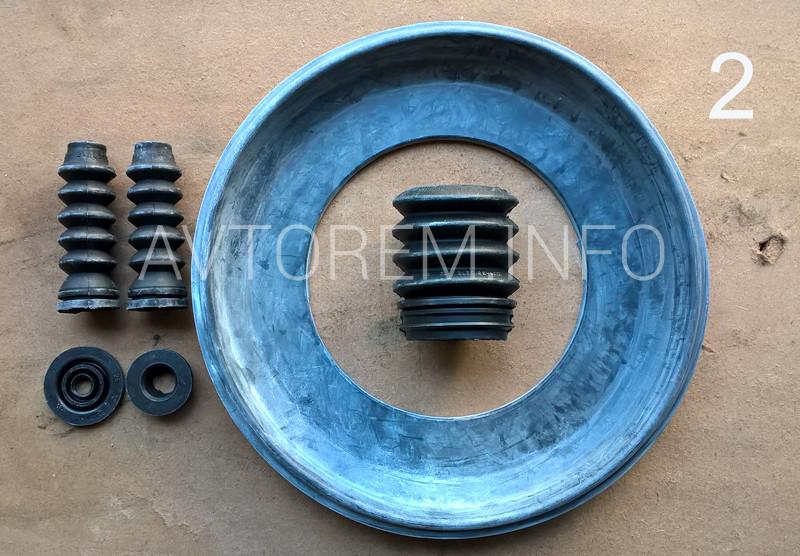 ремкомплект усилителя тормозов вакуумного ваз 2109