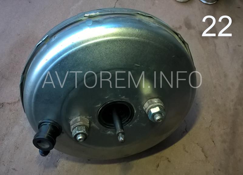 ремонт вакуумного усилителя тормозов ваз