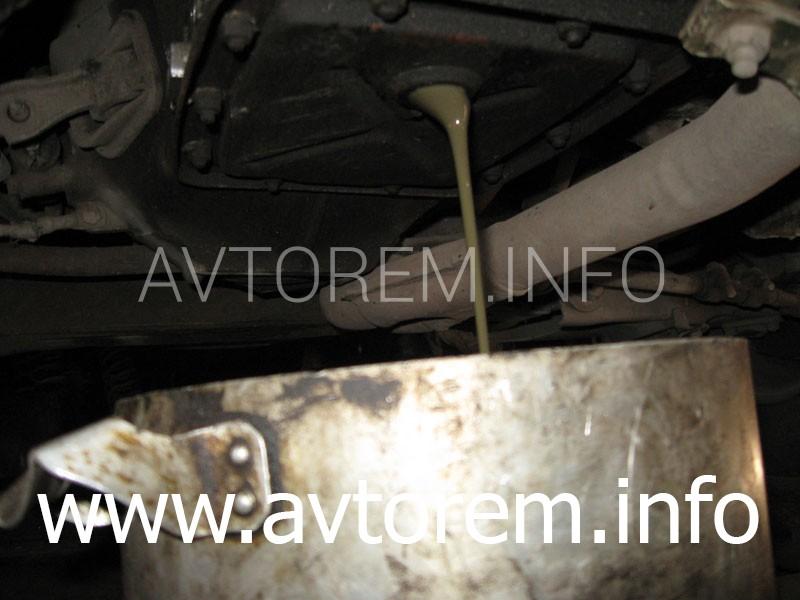 Замена трансмиссионного масла в редукторе заднего моста и коробке передач ( КПП ) на автомобилях ВАЗ-2101, ВАЗ-2102, ВАЗ-2104, ВАЗ-2105, ВАЗ-2106, ВАЗ-2107, Жигули