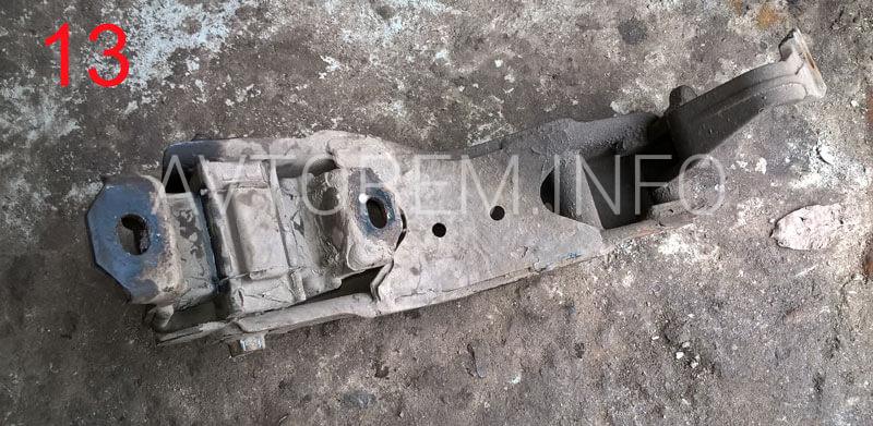 задняя подушка силового агрегата ланос